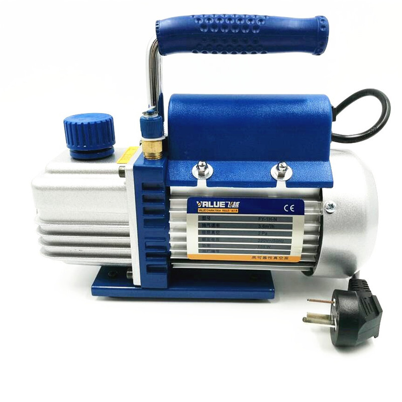 FY-1H-N mini portable air vacuum pump 2PA ultimate vacuum for Laminating Machine and LCD screen separator 150W  220V built in air vacuum pump ko semi automatic lcd separator machine for separating assembly split lcd ts ouch screen glas