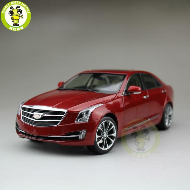 1/18 US GM Cadillac ATS ATS L 2016 Diecast Model Car Red