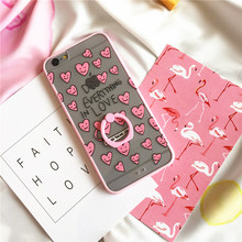 2017 Luxury Fashion Case Do Everthing in Love Rubber Silicone Frame And PC Bottom Phone Case for iPhone 6 6S 6 Plus 6S Plus