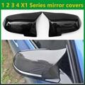 Чехлы на зеркало заднего вида из углеродного волокна для BMW 1  2  3  4  x  1  f20  f22  f30  gt  f34  f32  f33  f36  m2  f87  E84