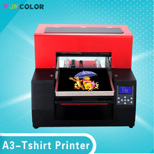 USB A3 T-shirts UV Inkjet Printer 6 color A3 size Printing T-shirts Machine with Epson Printer Heat for T-shirts,Plane objects