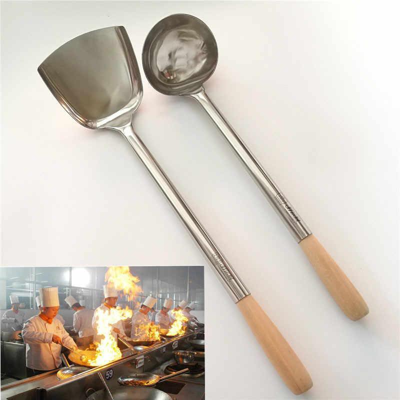 Big Long Spatula Shovel Chef Cooking Cocina Utensilios Blade