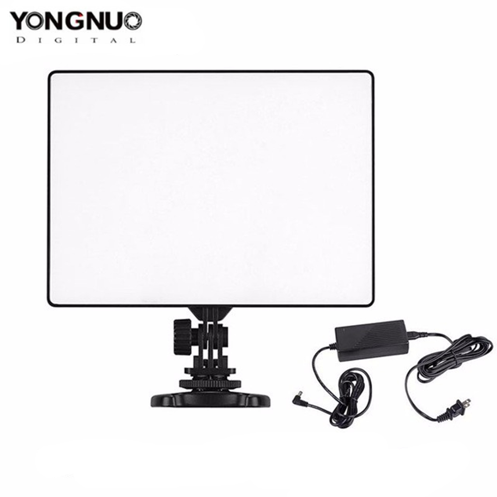 YONGNUO YN300 Air 3200K 5500K LED Video Light Panel with AC Power Adapter for Wedding Video
