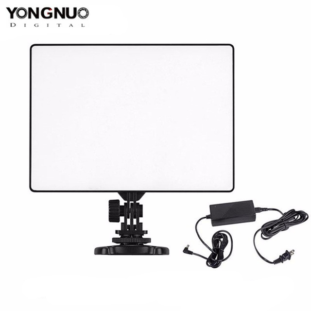 YONGNUO YN300 Air 3200K-5500K LED Video Light Panel with AC Power Adapter for Wedding Video Photography
