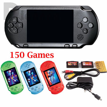 2019 Child Handheld Game Console PXP3 Portable Handheld Game Player 2.8''inch Free Retro Games Best Kids Gift