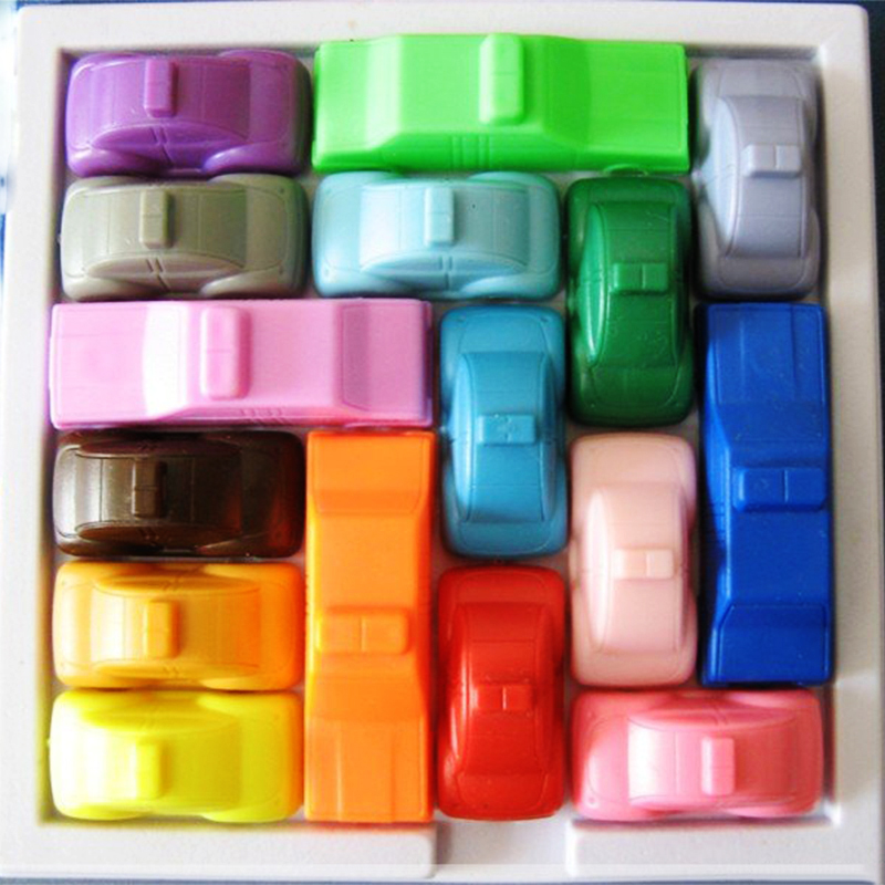 A Kids font b Toys b font Of 160 Puzzles Iq Car Not Esay To Get