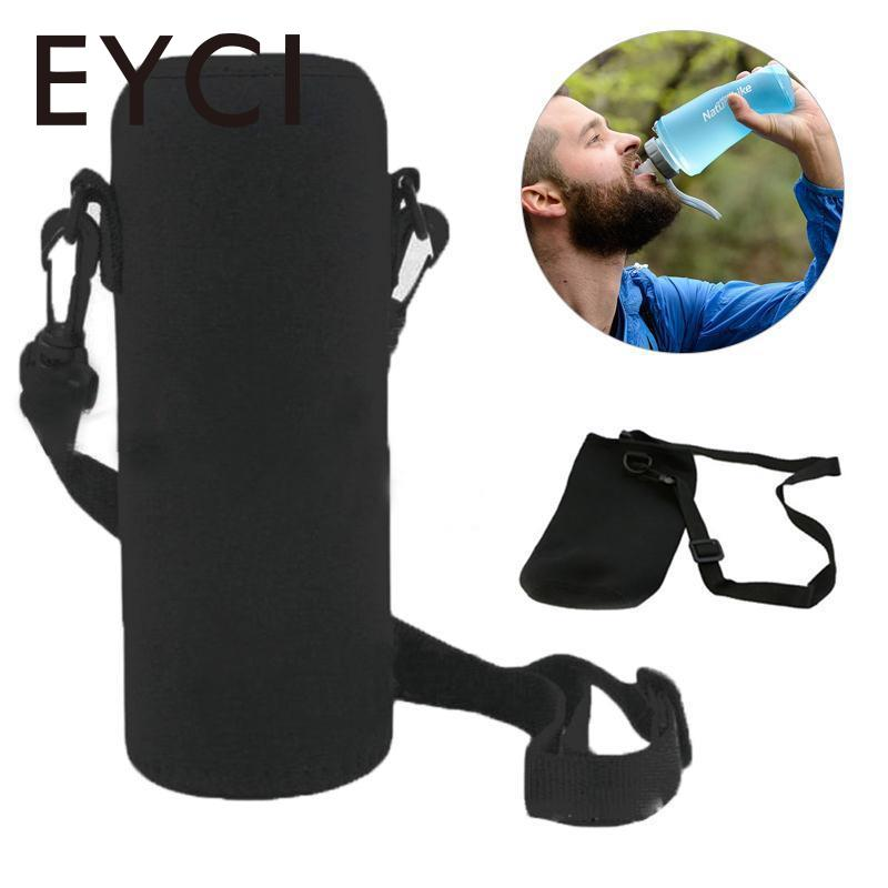 EYCI 600ML Water Bottle Cover Bag Pouch Strap Neoprene Water Bottle Carrier Insulated Bag Pouch Holder Shoulder Strap