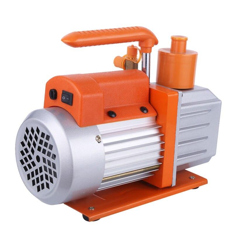 Подробнее о 2 Stage 2RS-1.5 110V/60HZ 4.0CFM Rotary Vane Refrigeration Vacuum Pump Air Pump 0.3Pa HVAC Air new 110v 60hz high reliable hvac rotary vane vacuum pump tw 1m suitable for r410a r134a r22 r407c r12