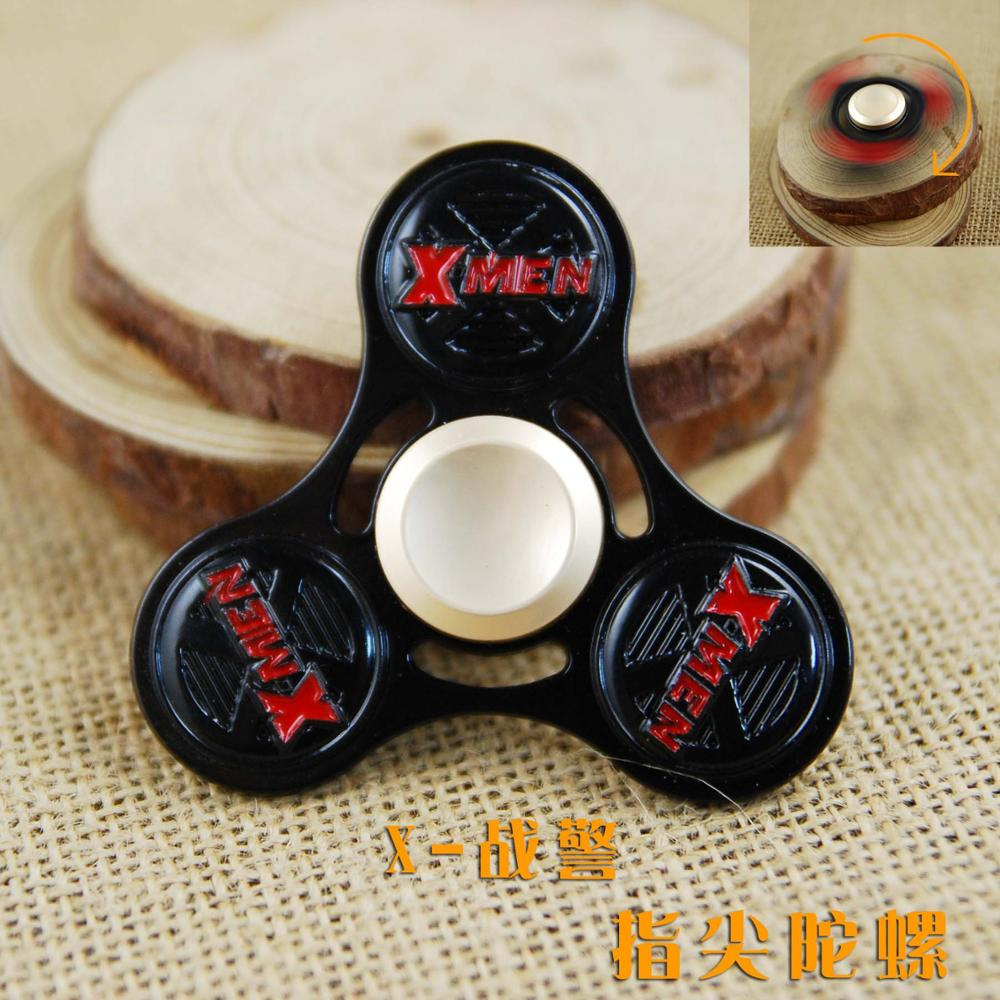 Tri Spinner Fidget Alloy X Men Puzzle Toys EDC Fidgets Hand Spinner Autism ADHD Finger Gyro