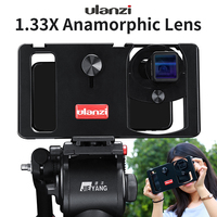 phone screen In Stock Ulanzi Anamorphic Lens For Mobile Phone 1.33X Wide Screen Video Widescreen Slr Movie Mobile Phone Lens Universal (5)