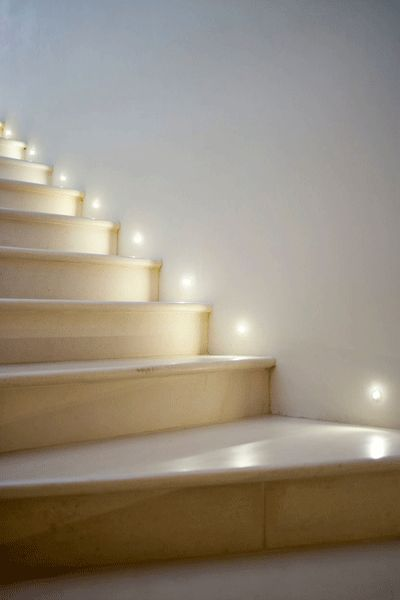 Outdoor & indoor LED Wall step Light Stair Lighting Set :30pcs ...