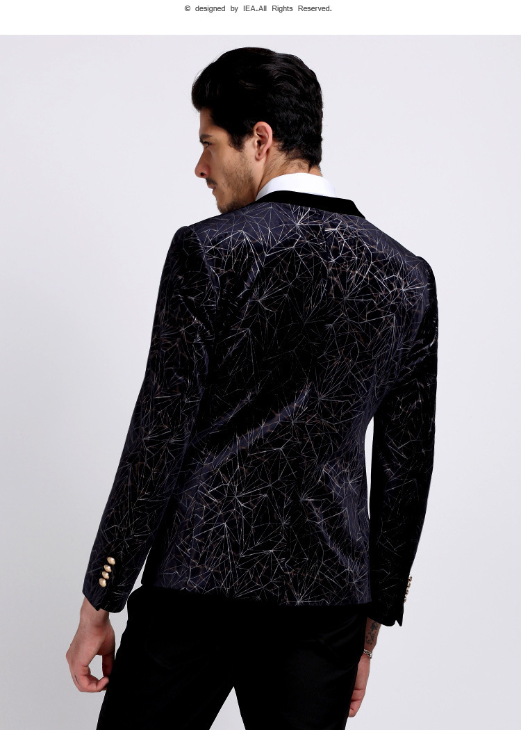 Velvet Blazer Mens Photo Album - Reikian