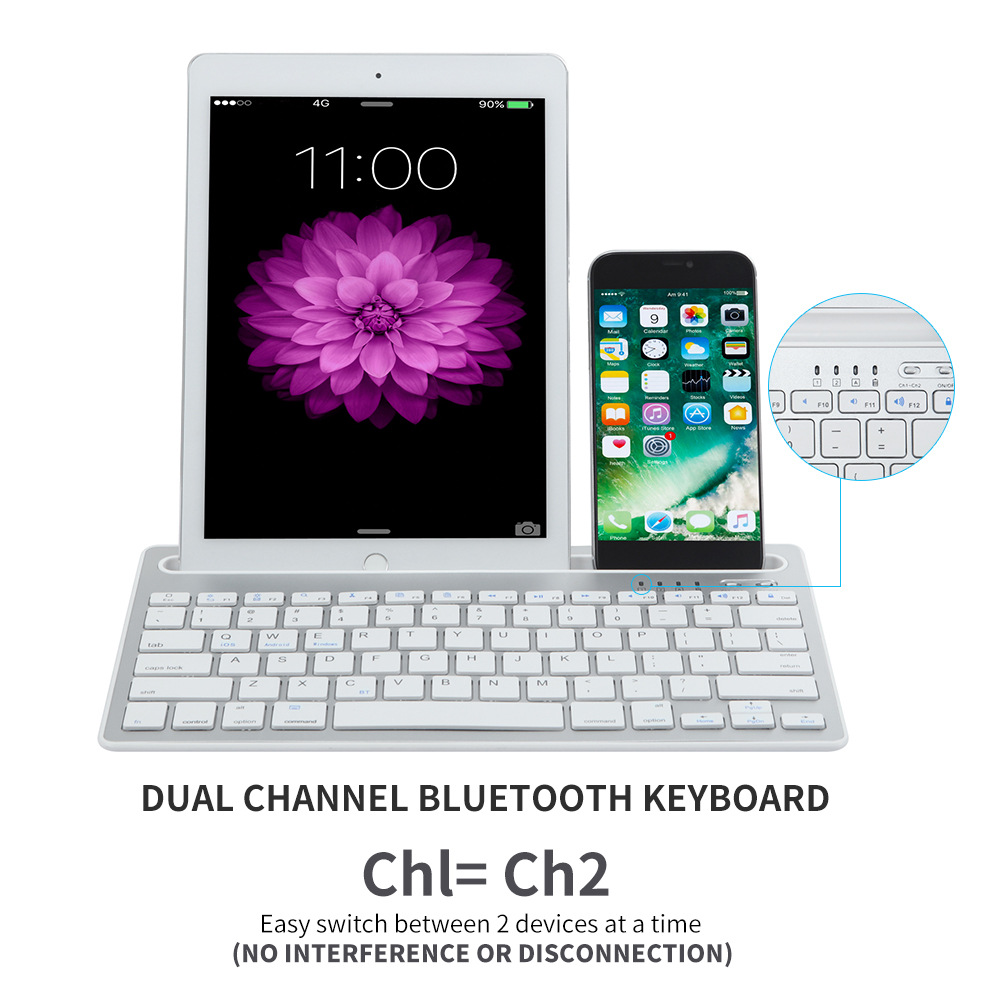 Bluetooth Keyboard Wireless  (7)
