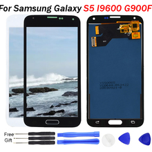 G900F LCD For Samsung S5 LCD G900F G900A LCD Display G900P G900T G900V Touch Screen Digitizer for Galaxy s5 replacement Parts black color replacement parts for samsung galaxy s5 i9600 lcd display touch screen digitizer free shipping