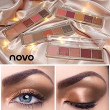 NOVO 5colors fashion eyeshadow palette Shimmer Matte eye shadow makeup palette W
