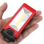 2 Mode COB LED Working Flashlight Folding Hook Pocket Torch Handy Lamp Camping Light Emergency Inspection Lanterna H7TY0 #0