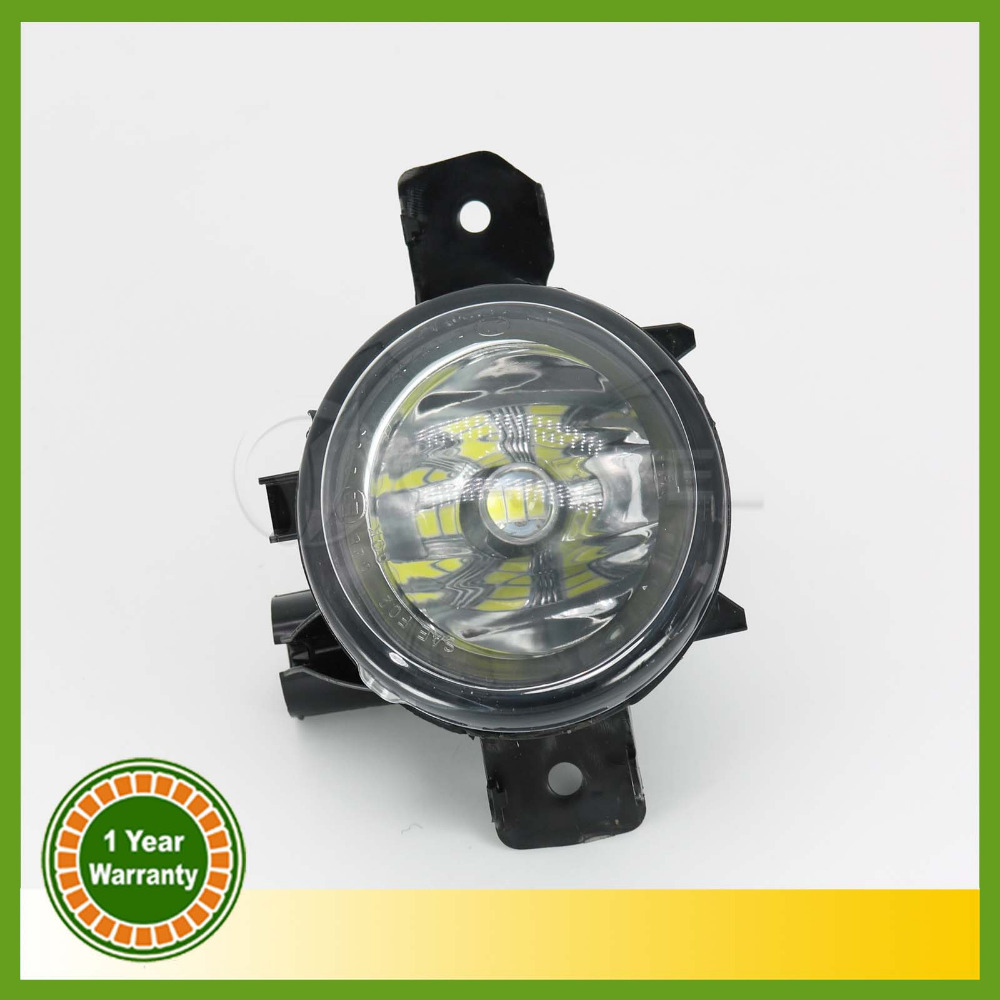 Car LED For BMW E70 X5 2009 2010 2011 2012 2013 Left Side LED MTECH M TECH OEM ReplacementClear Fog Lights Lamps car rear trunk security shield shade cargo cover for nissan qashqai 2008 2009 2010 2011 2012 2013 black beige