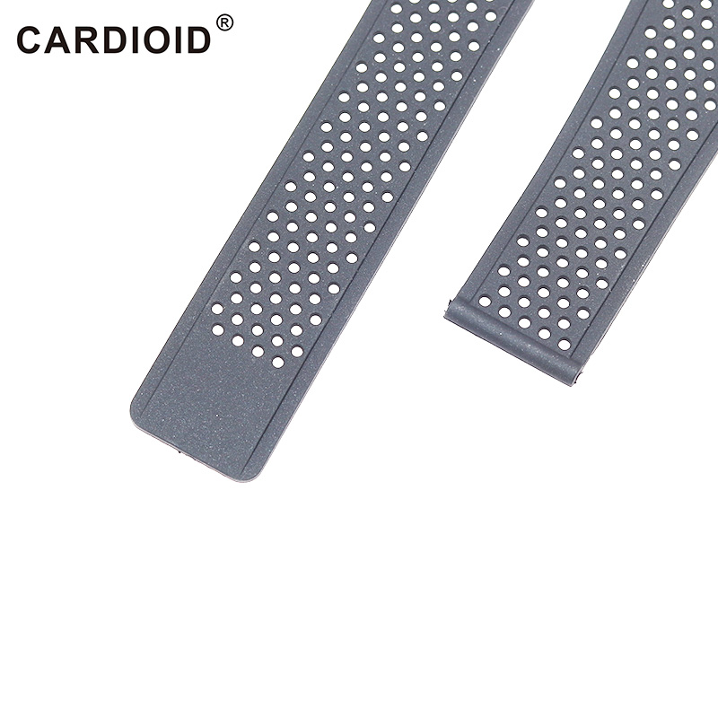 Classic 22mm Silicone Rubber Watchband For TAG HEUER Series Unisex Breathable Band Soft Watch Strap For CARRERA Wrist Bracelet in Watchbands from Watches