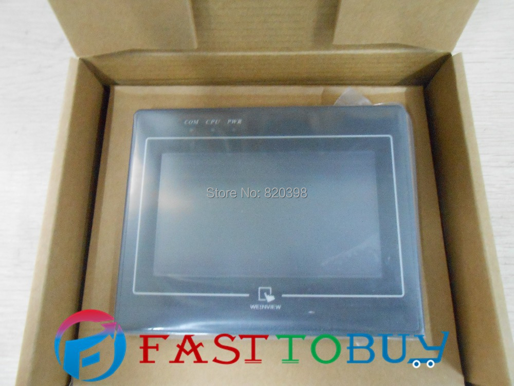 4.3 inch HMI Touch Panel Display Screen 480*272 MT6050iP Weintek Weinview with Programing Cable&Software 12 1 inch touch panel hmi display screen 1024 768 ethernet usb host sd card mt8121ie weinview with programing cable