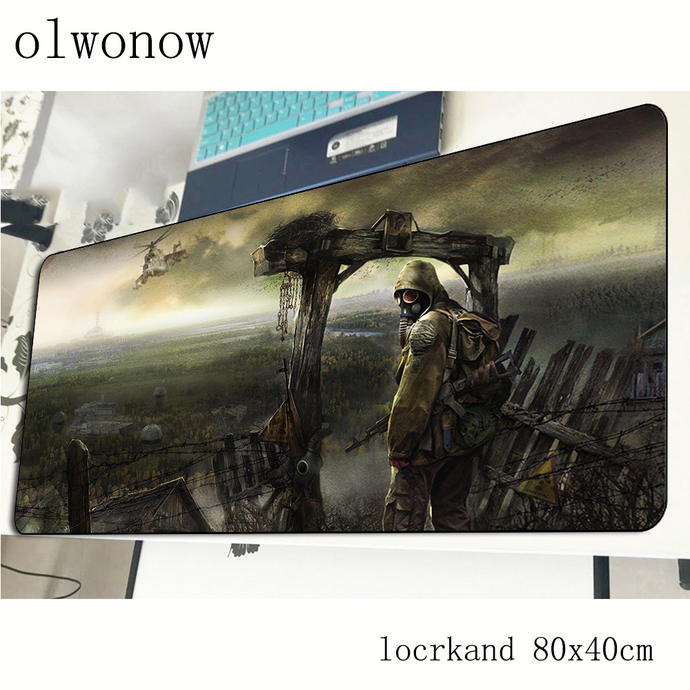 Stalker Mousepad 800x400x3mm Locrkand Gaming Mouse Pad Gamer Mat Hot Sales Game Computer Desk Padmouse Keyboard Large Play Mats