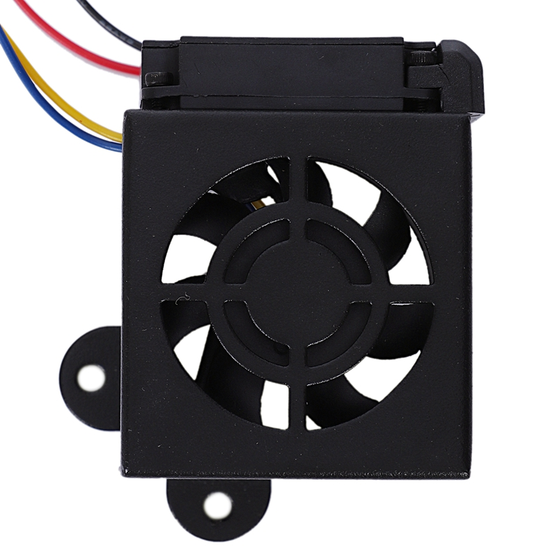 Image 2 - 3D Printer Accessories Cr10 Hot End Kit Mk8 Extruder Hot End Kit 1.75/0.4Mm Nozzle 12V 40W Heating Pipe 4010 Cooler Fan For Cr-in 3D Printer Parts & Accessories from Computer & Office