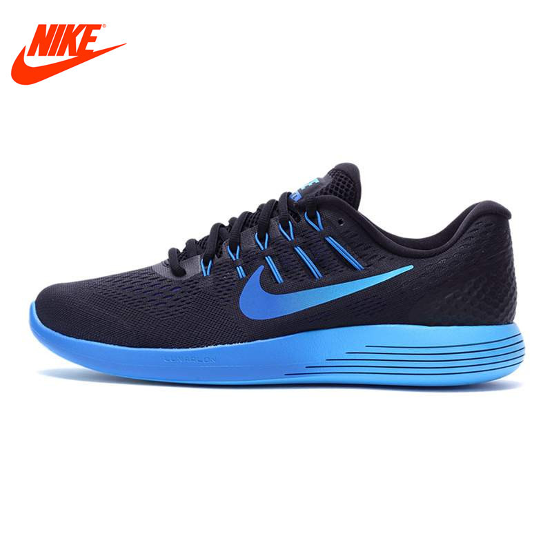 все цены на Original NIKE New Arrival Official Breathable LUNARGLIDE 8 Men's Running Shoes Sneakers Outdoor Walking Jogging Athletic