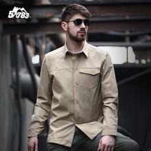 51783 Летний стиль Тактическая рубашка Мужская рубашка военных Новый бренд продаж Camisas Quick Dry Slim Fit рубашка Мужская одежда Camisetas