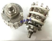 Керамический поворотный ленточный переключатель, 2 шт./лот, 3 слоя, 3 ножа, 11 установочных переключателей, длина вала 14 мм