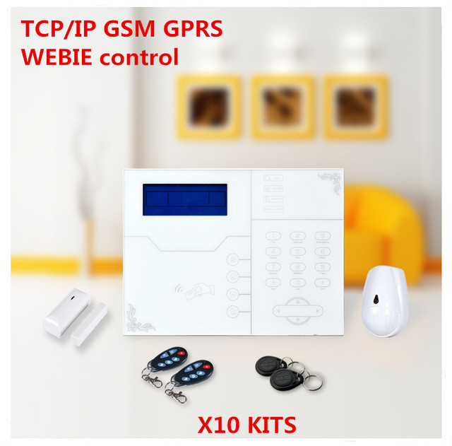 Bulk order Price Best Ethernet Alarm Wireless TCP IP Alarm GSM Alarm System For Smart Home Security Protection Alarm With APP bulk order price best ethernet alarm wireless tcp ip alarm gsm alarm system for smart home security protection alarm with app