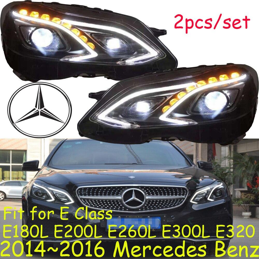 Car headlight,E180L E200L E260L E300L E320,2014~2016,Fit LHD,Free ship! E300L fog light,2ps/set+2pcs Ballast; zhengkai e350 e280 e320 e300l e260l e320l