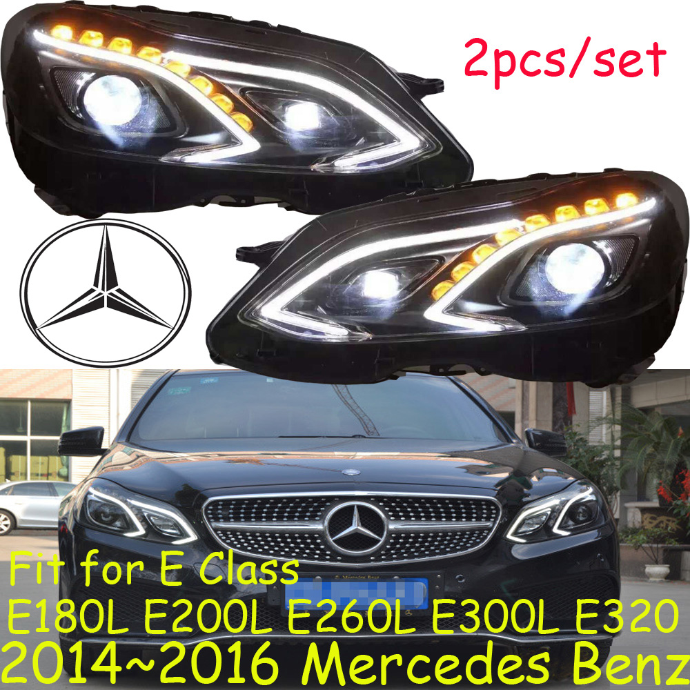 LED, <font><b>W212</b></font> <font><b>headlight</b></font>,car styling,E180L E200L E260L E300L E320,2014~2016,car accessories, E300L fog light,vito image