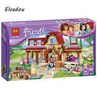 Elsadou BELA 10562 Girls Friends Heartlake Riding Club Building Blocks 594Pcs