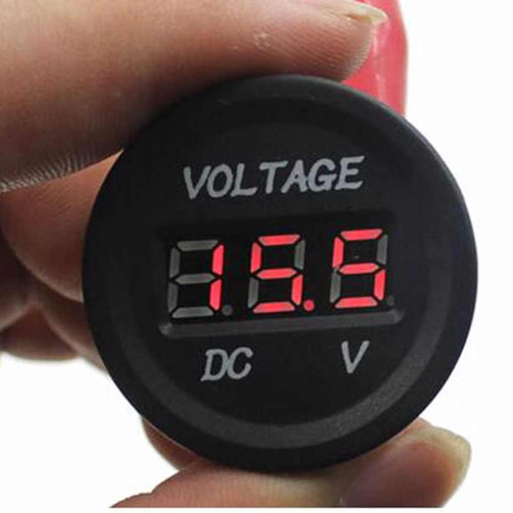 Professional 12V-24V Car Motorcycle LED DC Digital Display Voltmeter Waterproof Meter hot sales