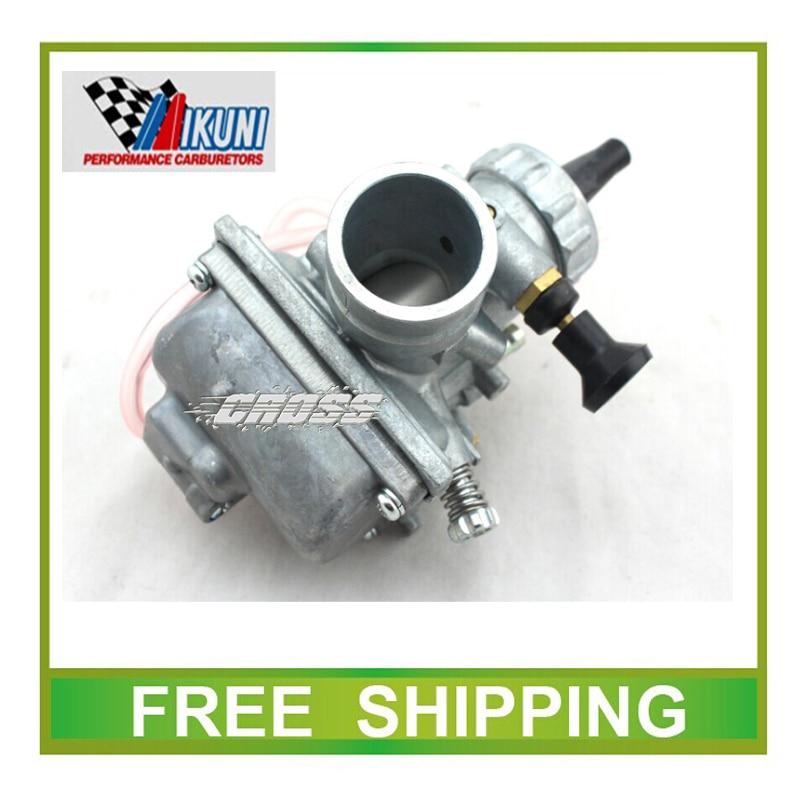 Carburetor mikuni VM24 28mm carburetor hand choke 140CC 150CC 160cc Dirt bike Pit Bike ATV ROUND