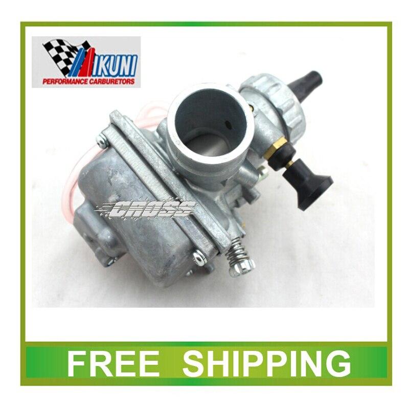Carburateur mikuni VM24 28mm carburateur starter à main 140CC 150CC 160cc Dirt bike, Pit Bike, ATV GLISSIÈRE RONDE CARB kayo taotao l'esb