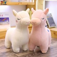 купить Plush Alpaca Toy Stuffed Cartoon Alpacas Sheep Lamb Dolls Baby Kids Children Kawaii Birthday Gift Home Shop Decor Triver Drop по цене 650.66 рублей