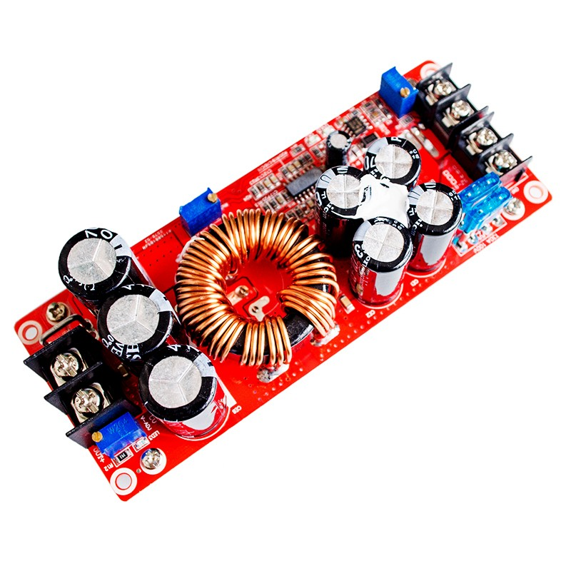 New 1200W 20A DC Converter Boost Step-up Power Supply Module IN 8-60V OUT 12-83V robots in disguise 1 step changers