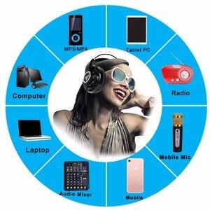 Image 4 - HP288 ハイファイヘッドフォンセミオープン過耳 3.5 6.3 プラグイン調整と軽量ヘッドバンドハイファイヘッドセットヘッドフォン