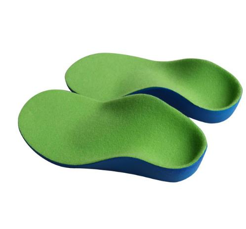 Kids Children PU orthopedic insoles for children Insole shoes flat foot arch support orthotic Pads Correction health feet care