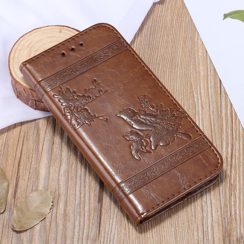 Fine Design High-Grade Quality Flip Leather Mobile Phone Back Cover Cases 5.0'For Google Pixel 2 Case