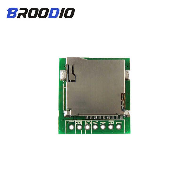 ミニ MP3 デコーダ M2801002 MP3 デコーダボードサポート Wav フォーマット TF カード MP3 復号モジュールと EQ 機能