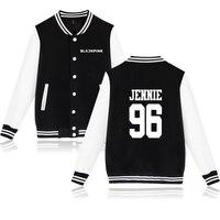 BTS KPOP BLACKPINK Winter Jacket Women Hip Hop Fashion Jacket Mens Korea BLACKPINK K Pop Idol