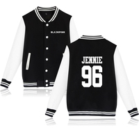 BTS KPOP BLACKPINK Winter Jacket Women Hip Hop Fashion Jacket Mens Korea BLACKPINK K Pop Idol