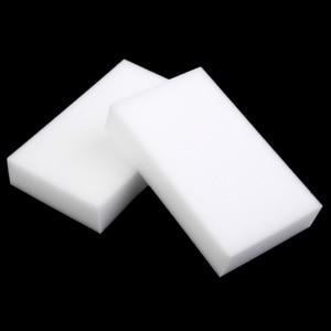Image 2 - 100 Pcs Groothandel White Magic Sponge Eraser Melamine Cleaner,multi Functionele Cleaning 100X60X20 Mm 50 Stuks