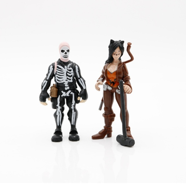 8pcs/set Fortnight Action Figure Toy 8-11.5cm Fortnight game Character PVC Action Figures Dolls Model Toy For children Gift 3