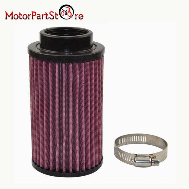 2 Pcs Air Filters Cleaners for Yamaha YFZ350 Banshee YFZ 350 ATV Dirt Motor  Bike Motorcycle Accessories @25