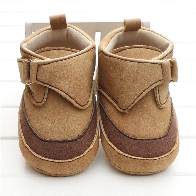 08595887bb334 Baby Leather Shoes Start Rite Pre Walker Noah Brown Boys Zapatos Para Ninos  Baby Booties Chaussure Enfant Bota Infantil Menino