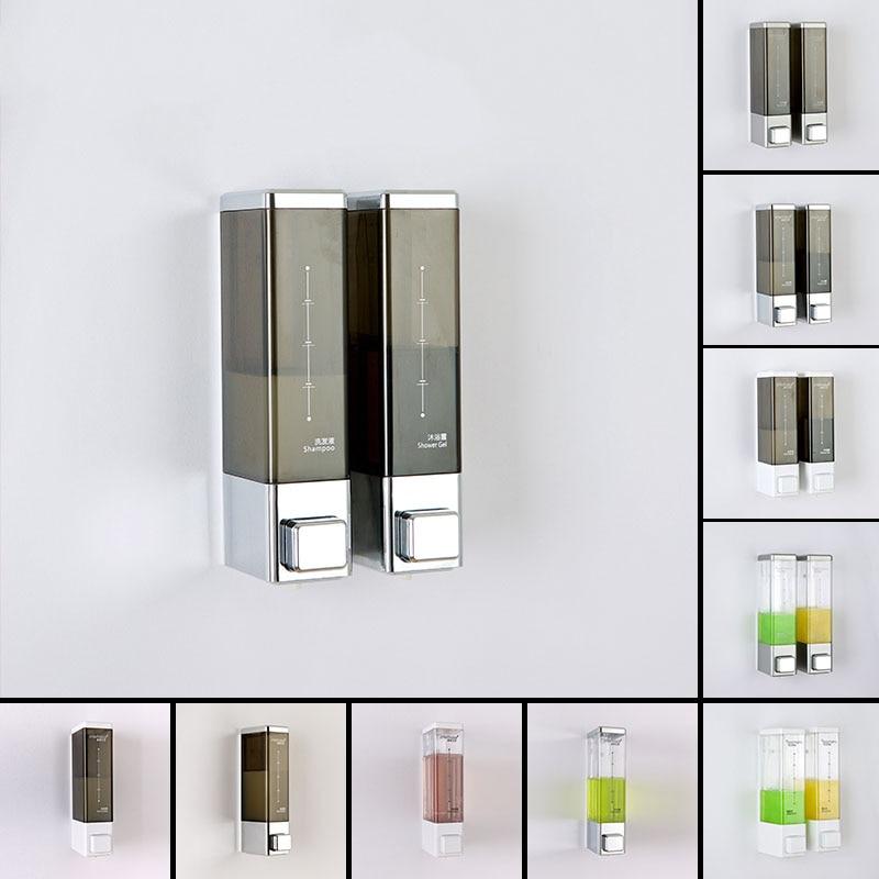 Fapully Soap Dispenser Wall Automatic Liquid Soap Dispenser Kitchen Bathroom Bottle Plastic Pump Dispensers 500 ML P144-01C-1