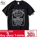 HanHent nueva de la teoría del Big Bang Sheldon Cooper Bazinga T camisa de los hombres Camiseta de algodón para hombre Camiseta Homme Top Tees envío de la gota