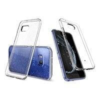 100% Orijinal Sıvı Kristal Glitter Vaka HTC için U11 Kristal Parlaklık esnek Rahat TPU Kılıf HTC için Perakende PKG ile U 11